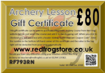 Beginners Course Gift Certificate